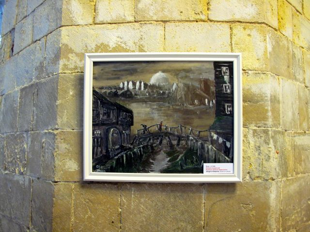 KAB Medway Art Group In Kentish Pilgrim's Land at Rochester Cathedral Wendy Daws - 02