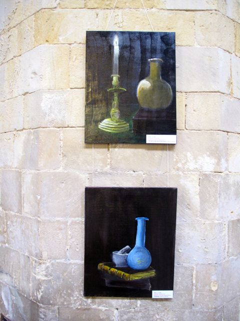 KAB Medway Art Group In Kentish Pilgrim's Land at Rochester Cathedral Wendy Daws - 03