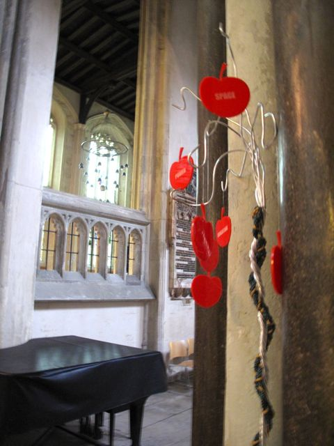 KAB Medway Art Group In Kentish Pilgrim's Land at Rochester Cathedral Wendy Daws - 33