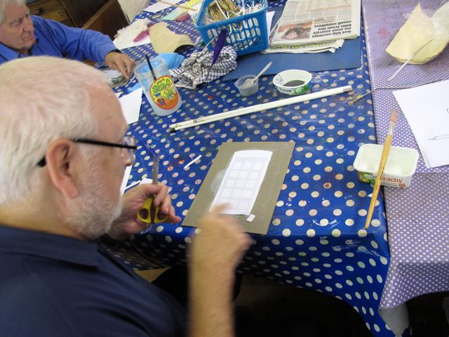 KAB Medway Art Group wk 2 Wendy Daws Tactile Timeline at Intra, photos Wendy Daws - 19