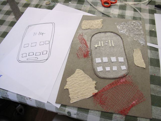 KAB Medway Art Group wk 2 Wendy Daws Tactile Timeline at Intra, photos Wendy Daws - 28