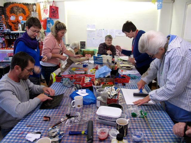 KAB Medway Art Group wk 3 at Intra Wendy Daws - 54