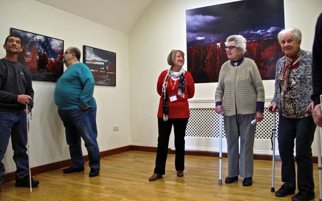 "KAB Medway Art Group Wendy Daws at Royal Engineers Museum ""Through Our Eyes"" - 01"