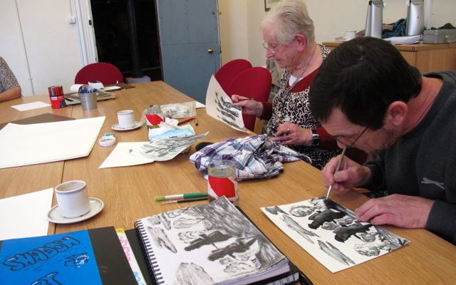 "KAB Medway Art Group Wendy Daws at Royal Engineers Museum ""Through Our Eyes"" - 11"