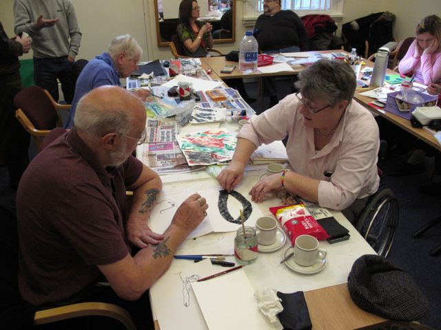 """Wendy Daws & KAB Medway Art Group at the Royal Engineers Museum """"Through Our Eyes"""" photos by Wendy Daws - 31"""