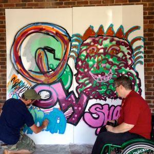 KAB Medway Art Group Wendy Daws & Greg Stobbs - 75